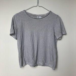 H&M basic striped shirt